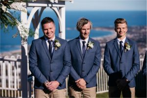 Wollongong wedding natural relaxed photographer Anchor and The Sea
